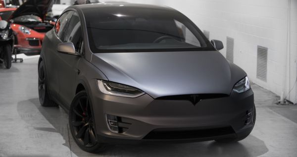 Tesla Model X - Auto wrap