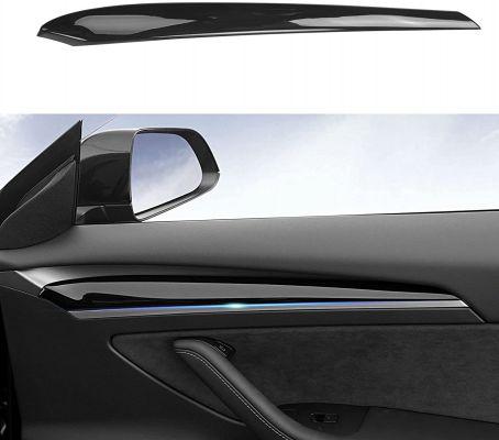 Model 3 (2012)/Y - Zijafdekkingen binnenzijde portieren (Zwart)