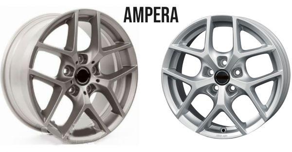 """Set Wielen """"Ampere"""" 20"""" voor Tesla Model 3 met en TPMS"""