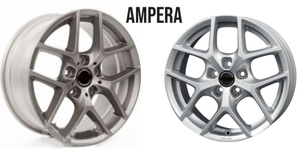 """Set Wheels Ampere 19"""" with tyres and TPMS"""