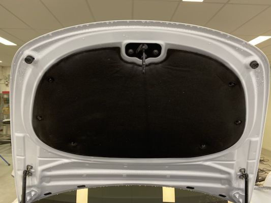Model 3 - Frunk isolation cover