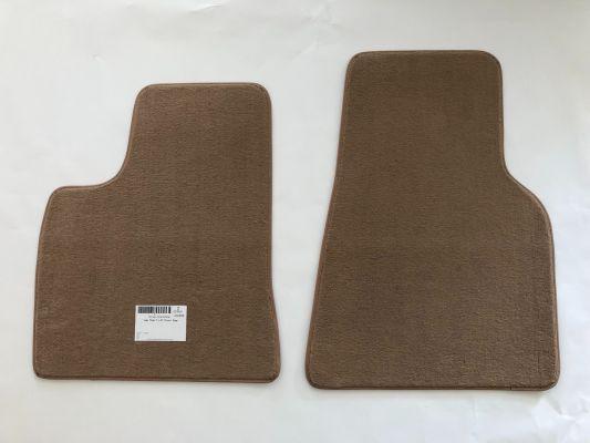 Model S - Interieur velours matten set beige