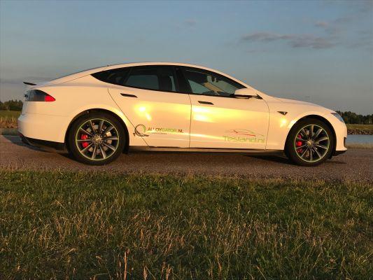 Tesla Model S - Auto wrap