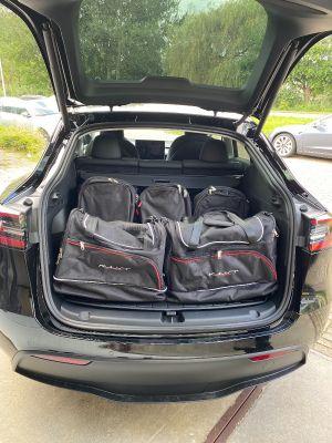 Reistassen op maat voor Tesla Model Y