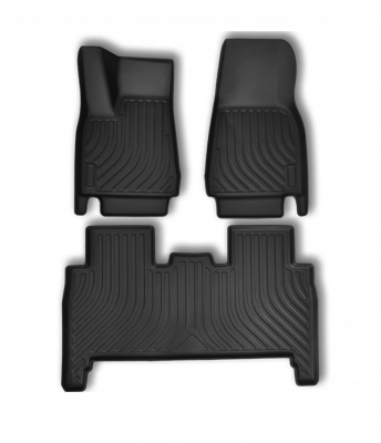 Model X - Allweather interieur matten (TPE) 5 personen