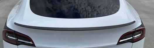 Model Y - Rear carbon spoiler - Matte