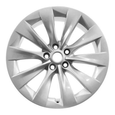 """Model X - Origineel Tesla wiel type 20"""" Slipstream - achterzijde"""