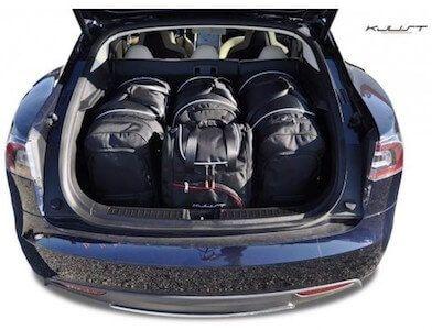 reistassen set op maat voor Tesla model S overzicht | tesland.com