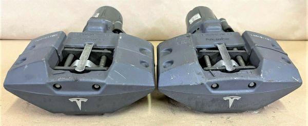 Model S - Electric parking emergency brake caliper set (USED)