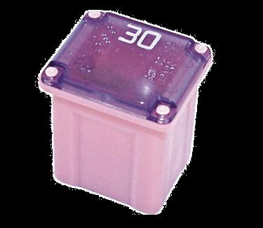 Fuse 30A 58V DC Pink Plastic