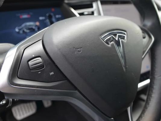 Model S - Scroll knop stuurwiel reparatie