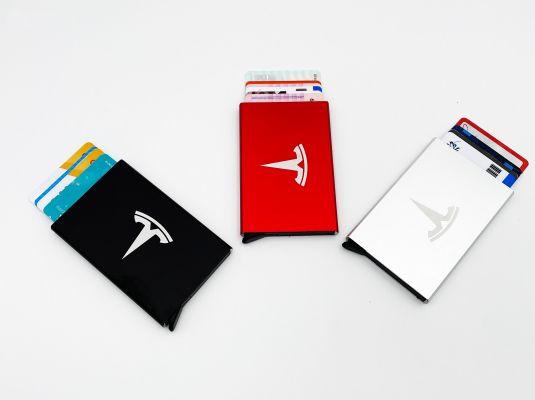 Kaarthouder voor 6 (bank)passen RFID en NFC beschermend.