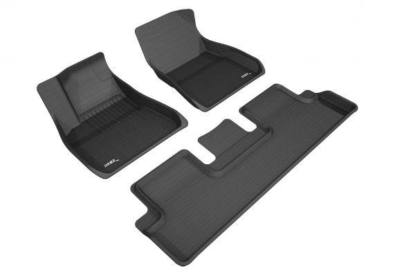 Model S - Allweather interieur matten MAXpider 3D voor interieur