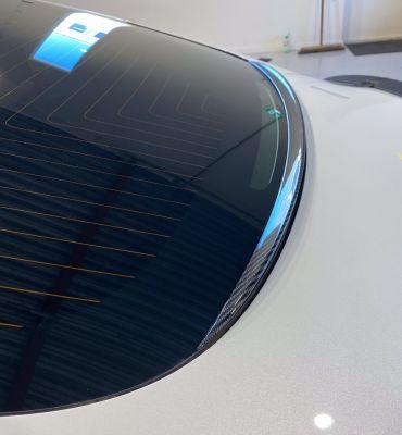 Model 3 - Anti-regen spoiler achterraam
