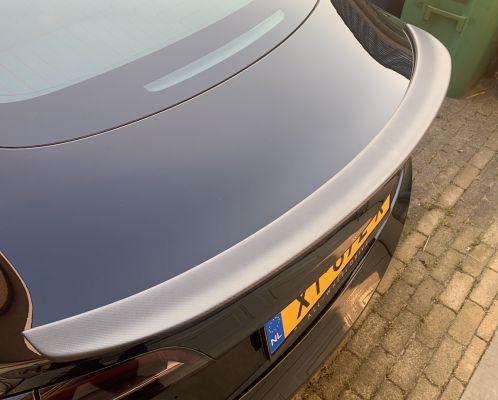 Model 3 - Carbon achterspoiler