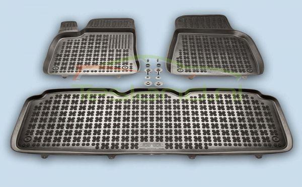 Vloeistofdichte matten achterbak Tesla Model S interieur | tesland.com