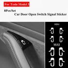Tesla Model 3/Y deurknop labels