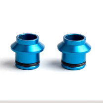 Huske 15mm plugs (blue)