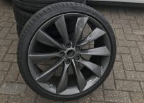 "Originele Tesla 21"" Turbine wielen | tesland.com"