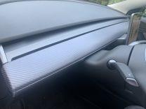 Vinyl wrap voor dashboard van Tesla Model 3, tesland.com