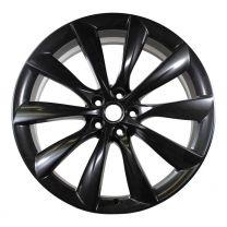 "Model X - Set originele Tesla wielen Turbine 22 ""(zwart)"