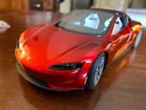 Tesla Roadster 2020. Collecters item