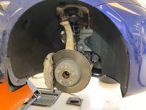 Model 3 - Geluidsisolatie voorwiel kappen