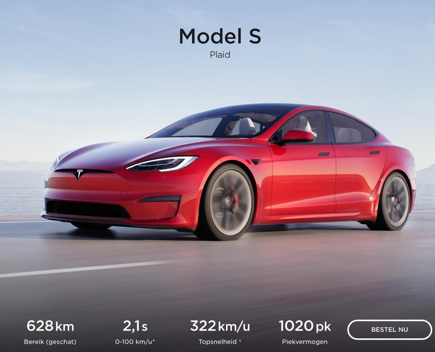 De vernieuwde Tesla Model S en X