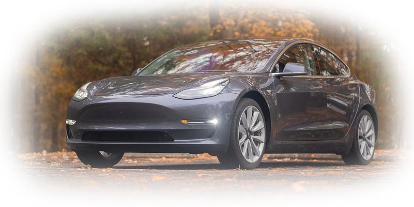 Tesland Tesla Model S Banner